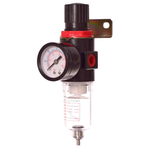 Druckluft Wartungseinheit Druckminderer Öler Filter für Kompressor 1//2 1//4 Kuppl