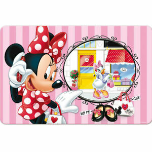 Set-de-table-rectangulaire-Minnie-rose