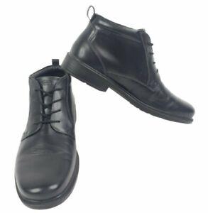 Ecco Gore Tex Chukka Boots Men's Size EUR 43 Black