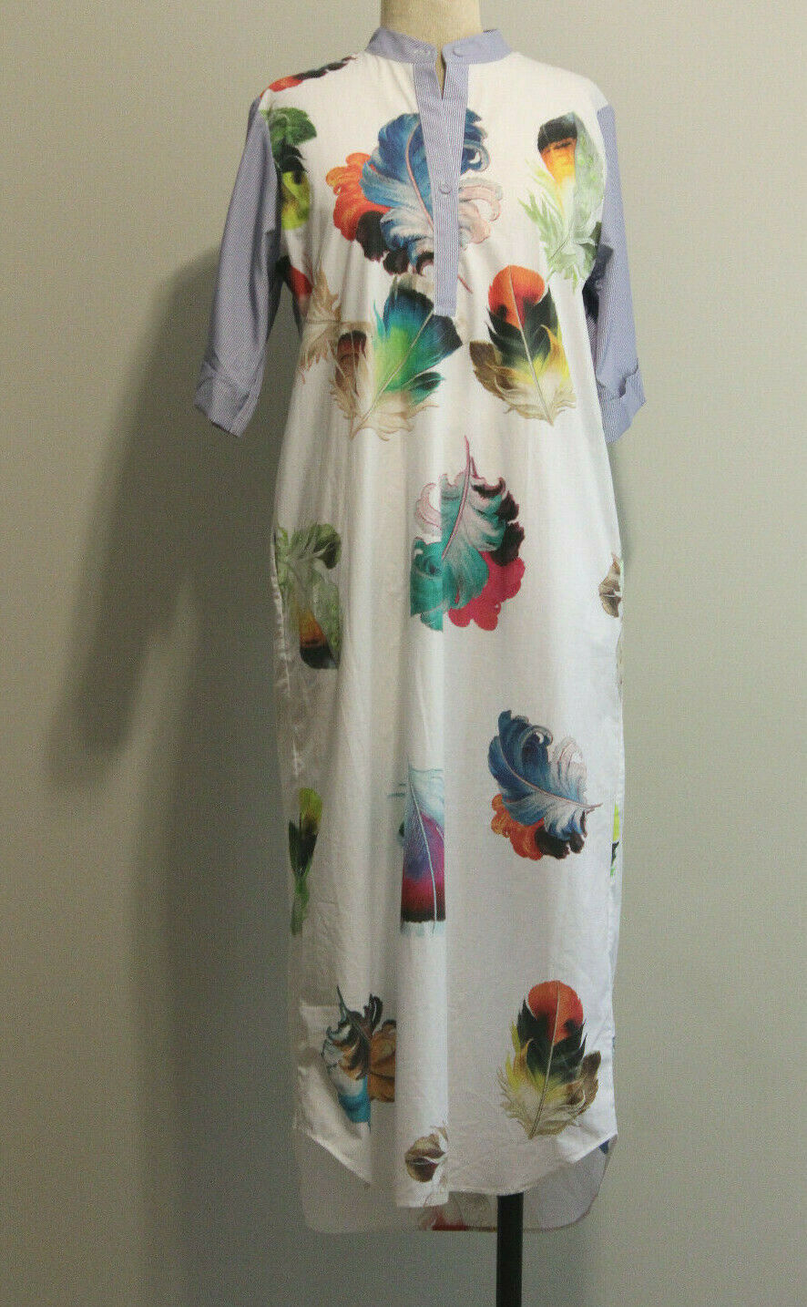 Romance Was Born 100% Cotton Feather Print Wide S… - image 4