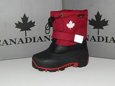 INDIGO Canadians Boots Gr 31, 32, 33, 34, 35 Winterstiefel rot