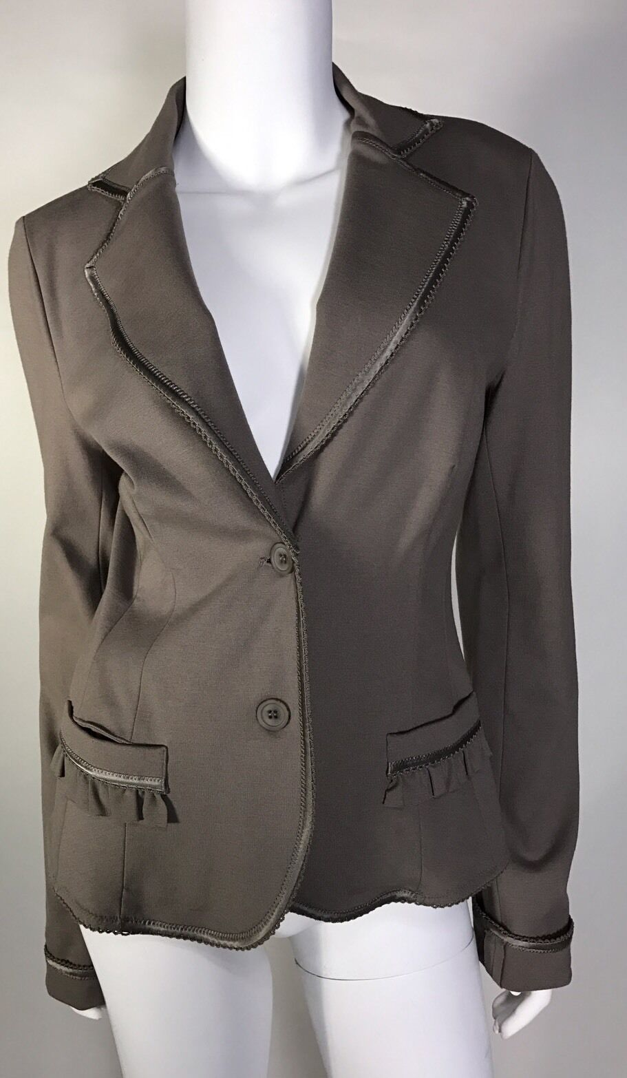 NWOT Paola Frani Woman Blazer Giacca Made In  SZ 8 US Beauty