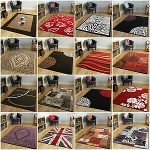 New-Modern-Rugs-Small-X-Large-Rugs-Soft-Easy-Clean-Brown-Red-Purple-Rugs-Online