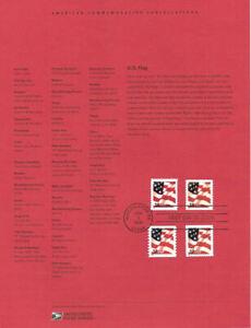 0213-37c-Flag-Sheet-and-Coil-3630-3636-Souvenir-Page