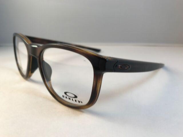 28ea2be3fd New Auth OAKLEY Eyeglasses OX 8102 0452 CLOVERLEAF MNP polished brown  tortoise
