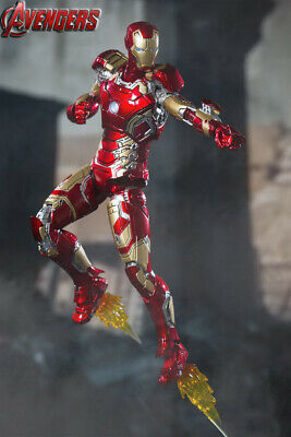 COMICAVE 1:12 Iron Man Action Figure MK7 Model Toy Collection Gift Alloy Display