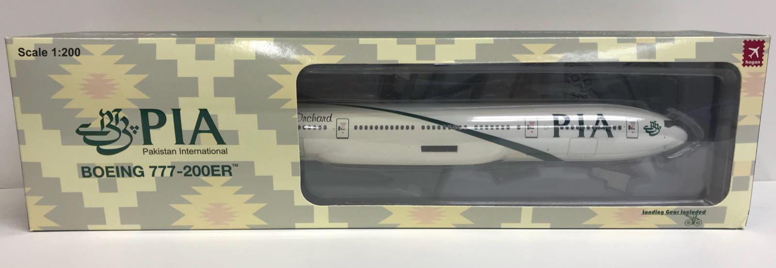 Hogan Wings 4814, Boeing B777-200ER, Pakistan International (PIA), 1 200
