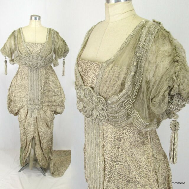 Antique Victorian and Edwardian Dresses collection on eBay!