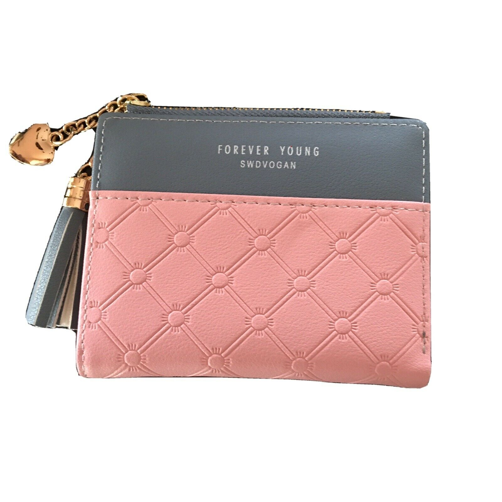 Women Leather Wallet Long Zip Purse Card Holder Case Phone Clutch Handbag Tote
