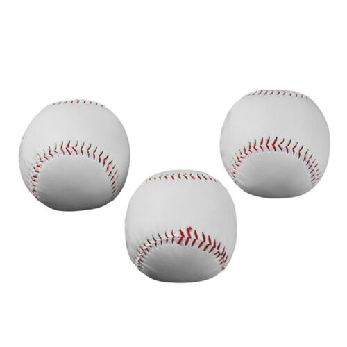 1X 9-Zoll-Handgemachte Baseball-PVC-Obere Gummi-Innere Weiche BaseballbäLle F8Q9