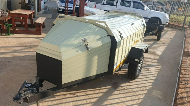 CHALLENGER 6 FOOT TRAILER WITH NOSECONE