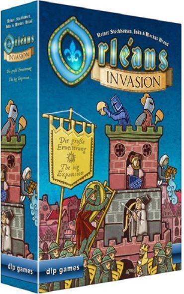 Orleans Jeu de Société - Invasion Expansion