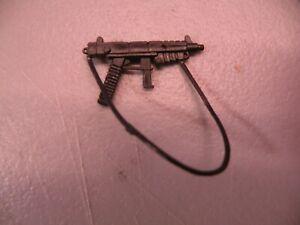 vintage G.I. GI JOE gijoe 1985 HEAVY METAL MACHINE GUN weapon UNBROKEN STRAP
