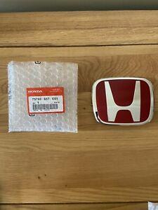 Genuine-Honda-Civic-Type-R-Red-H-Badge