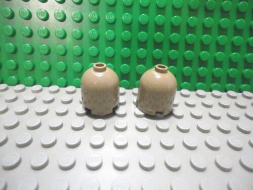 Lego 2 Dark Tan 2x2 Round Dome Hollow brick block NEW