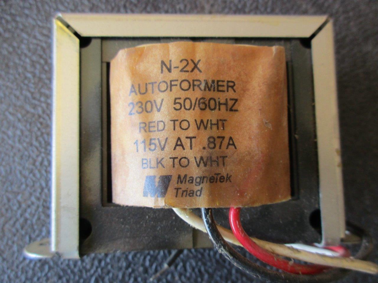2 x 12 V Transformador toroidal de 15 VA 2 x 115 V