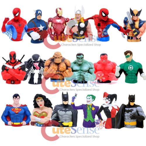 DC Comics Batman Bust Figure Coin Bank PVC Figurine Piggy Bank