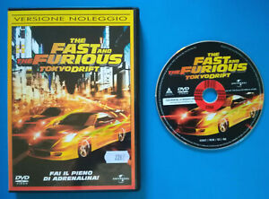 DVD-Film-Ita-Azione-THE-FAST-AND-THE-FURIOUS-Tokyo-Drift-ex-nolo-no-vhs-cd-T1