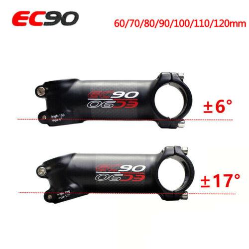 EC90 MTB Bike Stem Full Carbon Fiber 28.6mm Bar Stems 31.8*760mm Riser Handlebar