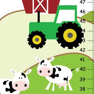 Children-Canvas-Height-Chart-Life-on-the-Farm-nursery-art-print