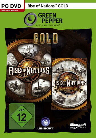 1 von 1 - Rise Of Nations - Gold Edition (PC, 2012, DVD-Box) - neu + OVP