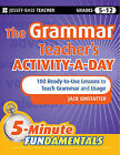 The Grammar Teacher's Activity-a-Day: 180 Ready-to-Use Lessons to Teach Grammar and Usage by Jack Umstatter (Paperback, 2010)