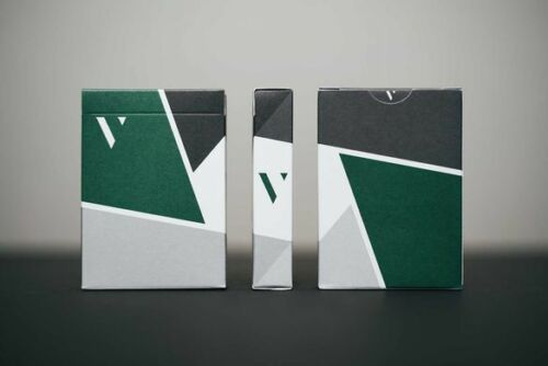 Virtuoso fw17 Playing Cards Jeu de cartes-tours de magie-Vert