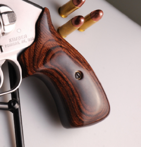 Details about Altamont Kimber K6 ALTAI Super Walnut Smooth Wood Grips