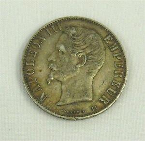 Bonito-5-Francos-Napoleon-III-Plata-1856-BB-Muy-Buen-Estado-Sup-REFP129