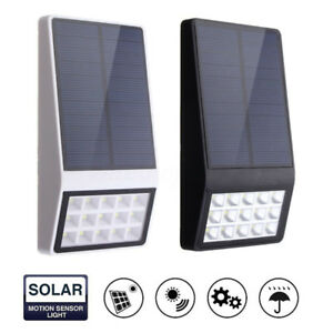 15-LED-ad-Energia-Solare-Sensore-di-Movimento-Luce-Sicurezza-Lampada-da-Esterno