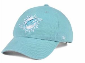 fantastic savings top brands finest selection New Miami Dolphins Women's Pastel Clean Up Hat Cap 47 Brand | eBay