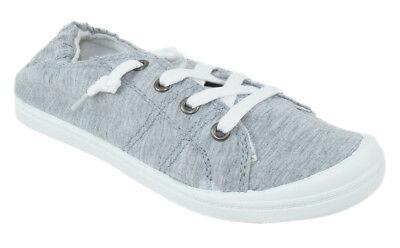 Soda Flat Women Shoes Linen Canvas Slip