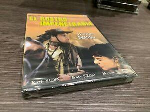 Il Viso Impenetrabile DVD Marlon Brando Karl Malden Katy Jurad Sigillata Nuovo