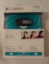 Logitech C170 Web Cam Black For Sale Online Ebay