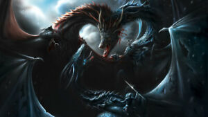 Details About Game Of Thrones Season 8 Battle Of Dragons Wallpaper Poster 24 X 14 Inches