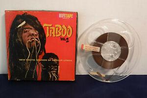 Arthur-Lyman-Taboo-Vol-2-HiFi-R-822-1960-4-track-7-5-IPS-Reel-to-Reel