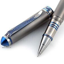 Grayson Tighe Titanium Tighe Two Blue LE Rollerball Pen