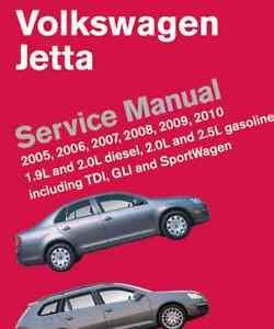 2005 2006 2007 2008 2009 2010 volkswagen jetta service shop manual rh ebay com Soviet Car Engine AMC 401 Engine