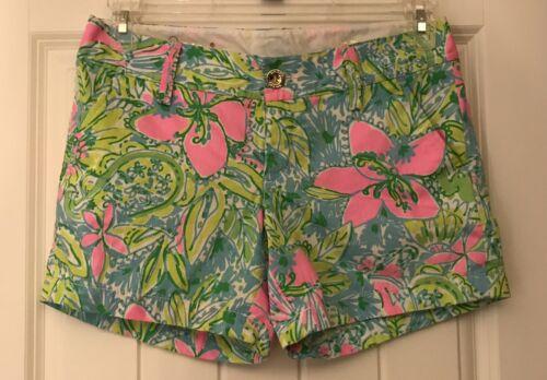 Verde Rosa Pantaloncini Floreale Pulitzer Lilly Grove Callahan Coconut 2 wpqZYU0qx