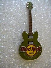 SACRAMENTO,Hard Rock Cafe Pin,Core Guitar Green 3 string