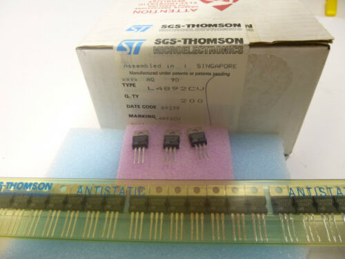 4 unidades//lot of 4 pieces l4892cv very low drop voltage regulator Ldo 9,2v l7892