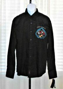 BC-Clothing-NWT-Men-039-s-XL-034-Love-to-Encircle-034-Long-Sleeve-Shirt-Casino-Gambling