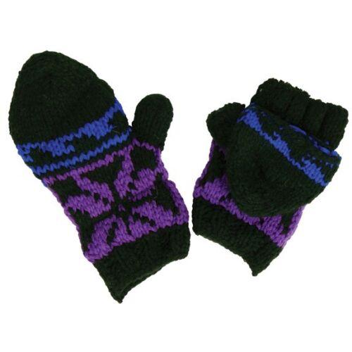 Fingerless Knitted Gloves//Mittens