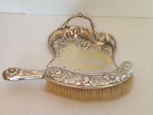 Krümelschublade Platte Silber Bead IN Relief Ära Jugendstil