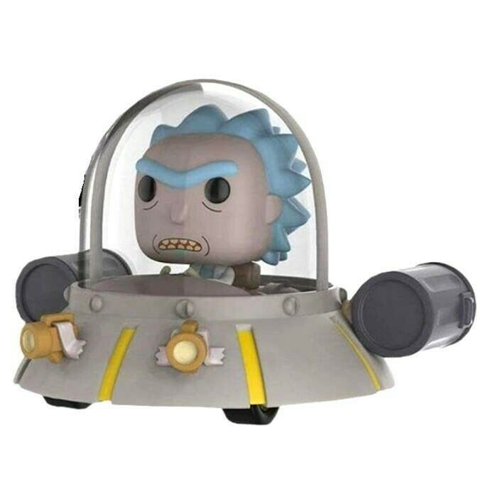 FUNKO POP RIDS RICK AND MORTY SPACE SPACE SPACE CRUISER LE VINYL FIGURE NEW a2f719
