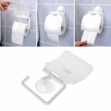Ecoco Bathroom Tissue Dispenser Wall Mounted Toilet Paper Holder Plastic Q5H9