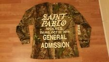KANYE WEST SAINT PABLO TOUR LONG SLEEVE SHIRT XL YEEZUS CAMO