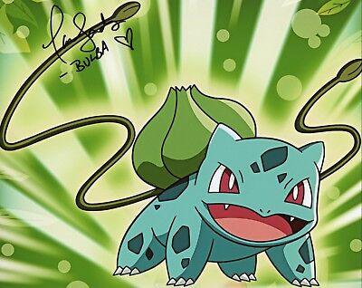 "Selfless ~ Tara Sands Authentic Hand-signed ""bulbasaur Pokemon"" 8x10 Photo E~ Television Entertainment Memorabilia"
