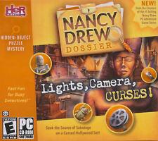 Nancy Drew Dossier LIGHTS CAMERA CURSES for Windows - Sealed PC Game
