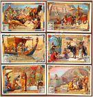 Figurine Liebig - Italia - Sang. 774 - Nel paese dei faraoni - 1904